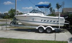 *************REDUCED AGAIN************ ***BABY ON THE WAY 8/08 NEED TO SALE*** ****$14,500**** 1998 bayliner trophy 2002ff 20.1' walkaround fishing boat,powered by an 2006 Mercury Optimax 175HP with warranty until 8/08,around 250 hrs, service completed on