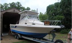 New boat on the way must sell soon.Original Owner states very clean, no cracks (spiderwebs) in gelcoat, has always been stored under cover never left in water. Washed down and flushed with fresh water after every use. Custom fit cushions have never had