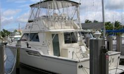 Description Considered by most to be one of the leaders in quality function and fishability the 43 Tiara Convertible offers a delicate balance of comfort and tournament fishing readiness. This two stateroom model is powered by a pair of Detroit 6V92TI's