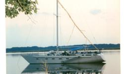 Homebuilt on famous Bruce Roberts design; radius chine steel; attractive hull; very strong, solid world cruiser; performs well; full rig w/sails; Initially launched 6/02. Interior is mostly complete, needs finishing. Call 757-876-2438 for