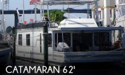 Actual Location: Fort Myers, FL - Stock #006459 - If you are in the market for a house boat, look no further than this 1998 Catamaran Cruisers 62 Houseboat, just reduced to $99,900.This vessel is located in Fort Myers, Florida and is in great condition.