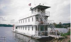 1998 100' Sternwheeler - Perfect Liveaboard - Split Wheel (they can be removed for maintenance or storage) - Single Cummins Diesel - TWO Generators (6kW & 40kW) INTERIOR PHOTOS AVAILABLE UPON REQUEST Nominal Length: 100' Length Overall: 100' Engine(s):
