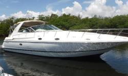 MUST SEE FAMILY CRUISER The cruisers 42 Express is one of the best handling and roomiest sport cruisers available on the market. The wide beam and two true stateroom and two head layout make a great family cruiser rather you want an extended cruise