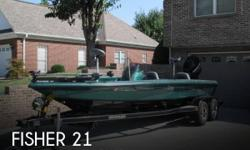 Actual Location: Morristown, TN - Stock #089548 - Excellent condition!A traditional style bass boat that is ready for action and fast to the fish.Semi Vee fiberglass hull with a roomy 7 foot 9 inch beam for stability and performance. Rite Hite jack plate