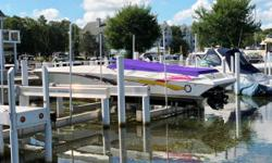 REDUCED 10K!!! This boat is equipped with a triple axle trailer, spare tire, triple Mercruiser 500 hp engines, (333 hours)k-planes, cockpit cover, s.s. props, fusion stereo, docking lights, external steering, thru hull exhaust, drop out bolster