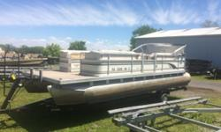 BOAT AND MOTOR PACKAGE ONLY. Photos updated May 13, 2017New Hoosier WFB-124 Trailer (single axle, painted): $2,195.00 Engine(s): Fuel Type: Other Engine Type: Outboard