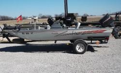 -1996 Force 75hp 2-stroke outboard -MotorGuide Pro Series 46lb 12v trolling motor -Humminbird fish finder Nominal Length: 17'