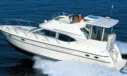 VERY CLEAN, Low Hours, diesel Maxum! This yacht has been well cared for, and not lacking any maintenance. The owners are relocating, or this yacht wouldn't be for sale. Due to their choice to relocate, this yacht is new to the market, and not likely to