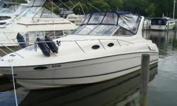 New Listing! This Regal 292 Commodore, Twin 5.0 Liter Mercruiser Alpha drives have been completely serviced including bellows, shift cables and gimbals during Winter 2018. In addition, tri axle trailer, full camper top, morning cover, storage