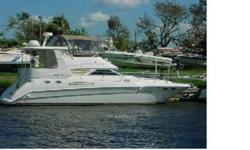 JUST REDUCED!!!BRING OFFERS!!!Creative styling, a spacious interior, and quality constructionmade the 420 Aft Cabin a popular yacht in teh Sea Ray fleet during her production years. Aft cabin yachts often look more like condos than boats, but the sleek