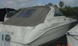 1998 45' Sea Ray Sundancer -- $25,000 PRICE REDUCTION -- Owner Motivated to move this boat. CALL WITH AN OFFER!!!! Engine(s): Fuel Type: Diesel Engine Type: Inboard Quantity: 2 Beam: 13 ft. 11 in. Speed max: 26