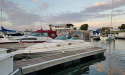 Cruising at its finest. The story of Sea Ray's 250 Sundancer is nothing shy of a success story. Packing two staterooms, full galley & head into 25' of boat and still trailerable. This boat has recently had full canvas replacement and has always been