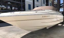 1998 Sea Ray 280 Bow Rider 28 Sea Ray Bow Rider with twin motors One owner Great family boat This boat has been soly maintained by a certified marina on Long Beach Island. It has been stored on a boat lift in the summer for a majority of its life and our