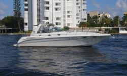 Price Reduction!MotivatedSeller!  This 1998 Sea Ray 440 Sundancer is powered bytwin Diesel Caterpillar 3116 motors with low hours.It recntly had a full service including bottom paint, zincs, exterior detail, updated striping,