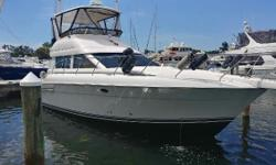 (LOCATION: New Port Richey FL) This Silverton 41 Convertible is a perfect example of how a vessel should be maintained. Extremely clean and full-featured, this convertible has spacious flybridge, large cockpit, open salon, galley with dinette, and two