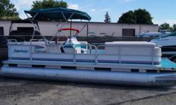 1998 SWEETWATER 220ES PACKAGED WITH A NISSAN 9.9 ENGINE. Beam: 8 ft. 6 in. Hull color: WHITE TEAL