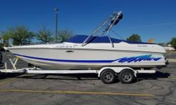 1998 Thunderbird-Falcon 2500 BR This is a 25 foot boat. Here is the best deal on boats. This boat needs absolutely NOTHING!This boat has 212 ORIGINAL hours. We bought this boat from a dealer in 2015 and it had 180 hours on it. We have never had even a
