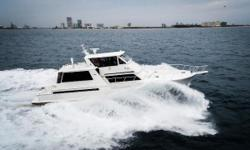 ACROSS FROM THE BOAT SHOW EASY TO SEE! Reduced again andSerious Seller .Do not pass up this built-for-speed and entertaining yacht with two ensuite master staterooms and an additional mid-ship stateroom with a full head. Freyja has