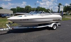Super nice little bowrider! Ready to go to the lake! Trades considered. CANVAS BOW COVER (WHITE) COCKPIT COVER DECK SKI TOW ELECTRICAL BATTERY ELECTRONICS AM/FM CD PLAYER STEREO MECHANICAL BILGE BLOWER BILGE PUMP COCKPIT CONTROLS ENGINE ALARM MANUAL