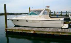 Twin Crusaders 454XL's w/524 hours  Full electronics, Bimini top, Radar arch, Air Conditioning.  Click on the Full Specs tab for complete info. Twin Crusaders 454XL's w/524 hours  Full electronics, Bimini top, Radar arch, Air