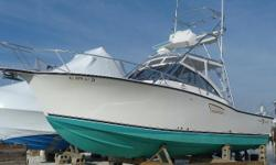 """Reduced price $77,500 Super CLEAN, One Owner vessel, beautiful Custom Tower. She has been kept in show condition since new. She is truly """"Turn Key""""  A serious, no nonsense express fisherman for your consideration. Experience"""