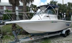 1999 Baha Cruisers 240WA Hin: FRR06852E999 Hull color: White