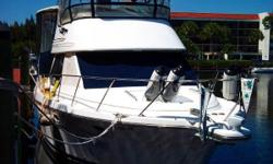 Nice Aft Cabin Motor Yacht - Custom Hard Top Economical Twin 270 Cummins - Westerbeke 8.0kW - Dual A/C & Heat - All Electronics - Custom Top on Bridge - Aft Hard Top - Great Condition - Prefect Live Aboard - Won't Last. Engines and Generator Serviced Jan.