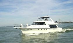 1999 Bayliner 4788 PilotHouse MotorYacht -- Fresh Water Vessel Since New'AQUAHOLIC' is in Pristine Condition Inside & Out -- Lightly Used Vessel w/ Only 700 Hours on Twin Cummins DieselsLoaded with Upgrades: Bow & Stern Thrusters, Hydraulic Davit System,