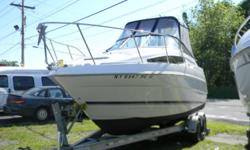 1999 BAYLINER 2355 CIERA/MERC 5.7/TRAILER/NICE Here is a pocket cruiser from Bayliner Boats that you can enjoy for a day an overnight or a weekend on the water without breaking the bank!, It comes equipped with all the dockside and shore power amenities,