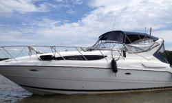 2002 Bayliner Ciera 3055 Sunbridge (EL) 2002 Bayliner Ciera 3055 Sunbridge (EL) Survey June 2018 Approximately 400 hours on the engines Very clean and in excellent condition both within and out 31 feet in length and 11 feet wide 2 MerCruiser V8 motors -