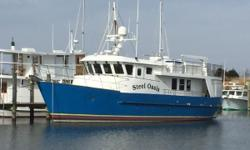 $50,000 price reduction! The best built, best equipped 63' Cape Horn CH63 Trawler STEEL OASIS is now available! A spectacular pedigreed Cape Horn trawler, hull # 6, whose emphasis is on safety, redundancies, quality, low maintenance, and luxury