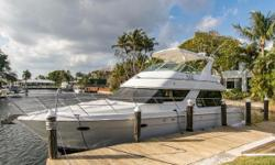 PRICE REDUCTION FOR MIAMI BOAT SHOW!!!!! OWNER WILL ENTERTAIN ALL REASONABLE OFFERS! Current owner has upgraded the boat and has completed repairs to make her extremely turn-key ready for your next trip. Just add fuel and provisions and you are all