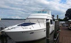 Current owner has upgraded the boat and has completed repairs to make her extremely turn-key ready for your next trip.  Just add fuel and provisions and you are all set.  Features include: Twin Cummins 450 Turbo Charged/Aftercooled w/under 160