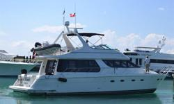 1999 53' Carver Voyager -- Spacious 3 Stateroom / 2 Head Pilothouse Vessel in Excellent Condition -- Only 714 Hours on Twin Cummins Diesels  Loaded with Upgrades: Garmin Electronics on both helms, Bow Thruster, Satellite TV, Water Maker + Much
