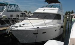 1999 53' Carver Voyager -- Spacious 3 Stateroom / 2 Head Pilothouse Vessel in Excellent Condition -- Only 714 Hours on Twin Cummins DieselsLoaded with Upgrades: Garmin Electronics on both helms, Bow Thruster, Satellite TV, Water Maker + Much More!!'DAY