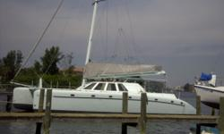 A 60 foot world cruiser, live aboard and term charter sailing catamaran that is fast, long, light, comfortable, efficient and easy to sail (single hand). Low maintenance design provides a safe and unsinkable vessel. Many windows, ports and hatches provide