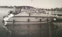 1999 Chris-Craft 300 Express Cruiser Beautiful 1999 Chris-Craft 300 Express Cruiser model in great condition White fiberglass hull with a matching interior 32 feet in overall length Sleeps 6 comfortably within as well! Has always been very well maintained