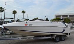 1999 226 Cobia Coastal Deck boat, 200HP Yamaha, Bimini Top, Aluminum Trailer, Hydraulic Steering, Center Console. $12,500.00 727-862-0776 Antonietti Marine Beam: 8 ft. 6 in.