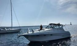 A chance to own Crownline's flagship! She's been very much loved and cared for. She runs very strong with a reported 45 MPH top speed! Combine your day or weekend with sport, performance and style, with this boat! Trades considered. Engine(s): Fuel Type: