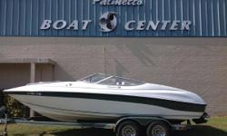 1999 Ebbtide Campione 210BR with a 5.7 MPI Mercruiser I/O This Package Includes: Ebbtide Campione 210 Performance Bow Rider in Good Condition New MCM 5.7L Engine w/ Multi-Port Injection in Perfect Running Condtion New motor has 30 hours New Vinyl 2 years