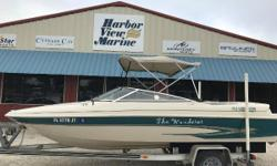 ***STK # 5053 ***FOR MORE INFO COPY THIS LINK >> http://www.harborviewmarine.com/1999-glastron-gs205-inventory.htm?id=1593933&in-stock=11999 Glastron GS205*bimini* StereoTrailer IncludedAluminum Single Axle Trailer348 hours on this well mechanically