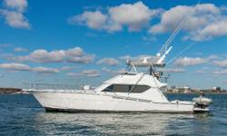 The Hatteras 60 embodies the words built by hand in America. The Hatteras brand is a legend for their quality and overbuilt yachts. This 60 benefits from over 200K worth or recent upgrades and they make this one of the nicest mid size convertibles on the