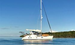 A beautiful boat, the owners have maintained and upgraded her for comfort and safety. They have enjoyed using her and have sailed extensively, and are now moving onto their next adventure. Nominal Length: 42' Length At Water Line: 37.8' Length