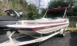 Just taken in trade, this 1999 Hurricane is a sound runner and in excellent condition given its age. Exterior shows some 20-year-old wear, but the interior vinyl looks as new as anything on our showroom floor. Tons of space with seating up to 12,