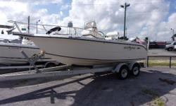 1999 Sea Era 21ft CC.  Comes with a Yamaha 150 2 Stroke outboard, aluminum tandem axle trailer, and hydraulic steering. Nominal Length: 21' Length Overall: 21' Beam: 9 ft. 0 in.