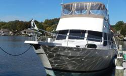 NEW listing and just reduced by $5,000.00!! Nice and clean. She is now hauled for winter storage. Very well maintained and ready to go South! Call now for your personal showing. This one is a keeper! Call now!! Nominal Length: 43' Length At Water Line: