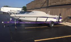 Great 21 foot direct drive competition ski boat in very nice shape for its age. Priced well below NADA and market values for its condition and equipment; i.e. priced to sell now at the end of the season. Has a great 5.7L Indmar 325 for ideal hole shot,