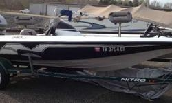USED 1999 NITRO 640LX THIS IS A NICE USED 1999 NITRO 640LX BASS BOAT WITH A MERCURY 75ELPTO AND TRAILER. THIS BOAT INCLUDES A 12 VOLT TROLLING MOTOR AND 2 DEPTHFINDERS. BOAT IS IN GOOD SHAPE. ENGINE CHECKS AND RUNS GOOD. CALL OR EMAIL TODAY FOR MORE