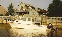 Great offshore or inshore fishing machine. Plenty of inside space to bare the elements and ample cockpit room to catch dinner. Comes with a Triple Axle Sea Lion trailer. Nominal Length: 25' Engine(s): Fuel Type: Other Engine Type: Outboard