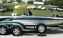 Here is a great opportunity to join the most renowned bass boat family, Ranger boats. This 1999 model is very clean, and equipped with everything you need for a great time on the water, including Lowrance electronics, and a Motorguide 24V trolling motor.